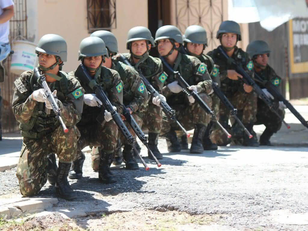 Inscrições abertas para o processo seletivo do Exército em Fortaleza-CE