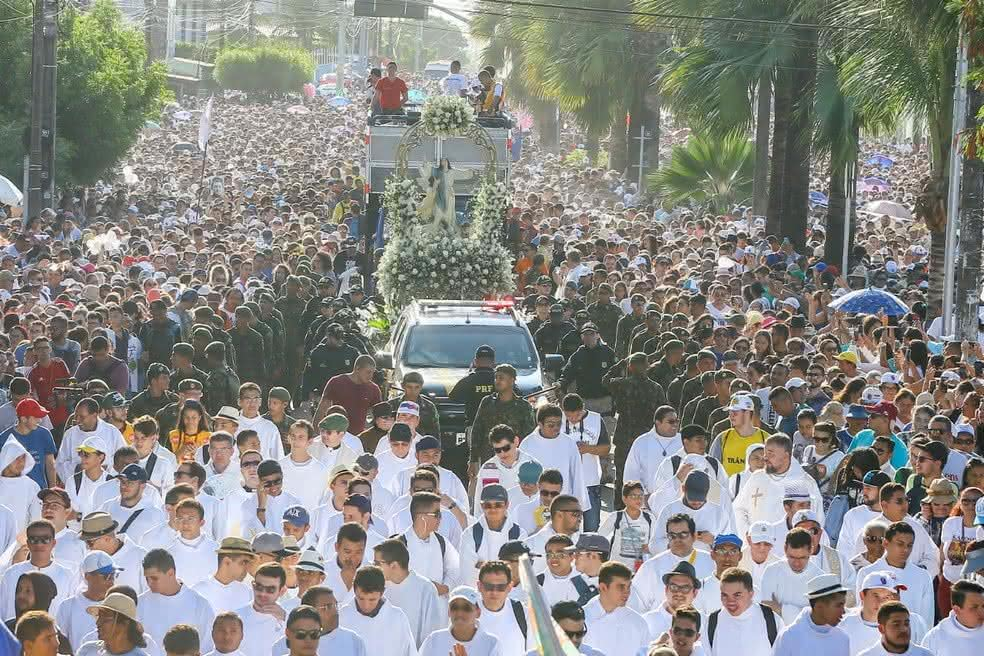 Evento religioso Caminhada com Maria em Fortaleza terá celebração on line
