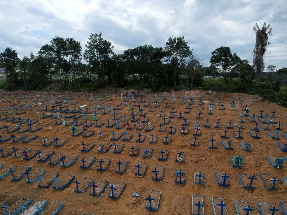 Visitação aos cemitérios públicos de Manaus está suspensa no Dia do Pais