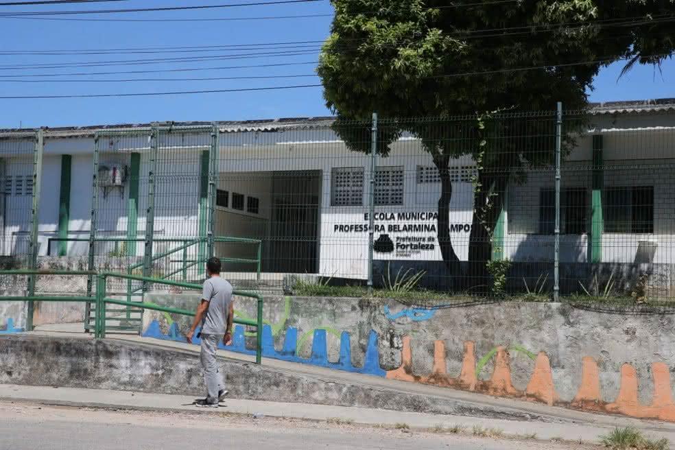 Escolas em Fortaleza passam por reformas para receber os alunos