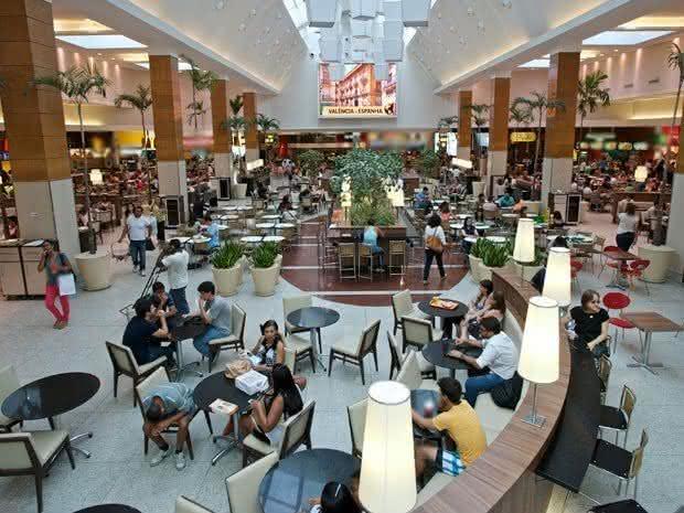 Reabrem hoje (10) as praças de alimentação dos shoppings em Salvador-BA