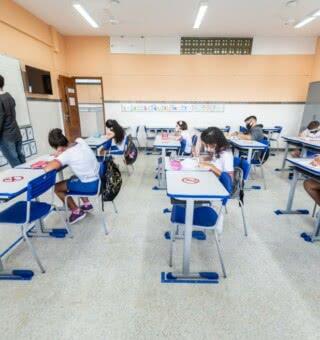 Estudantes voltam as aulas nesta segunda-feira (16) em Alagoas (Foto: Reprodução Google)